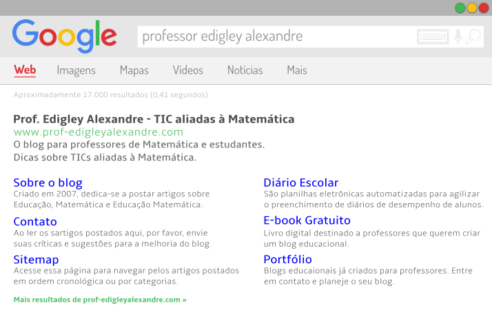 A Matemática por trás do Google Search