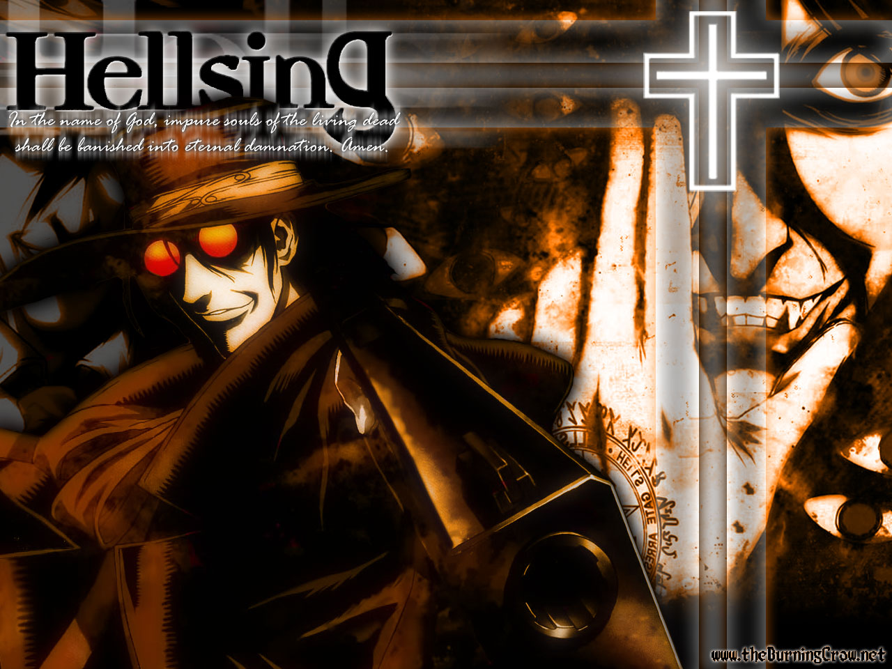 New hellsing anime wallpapers wallpaperholic - Anime hellsing wallpaper ...