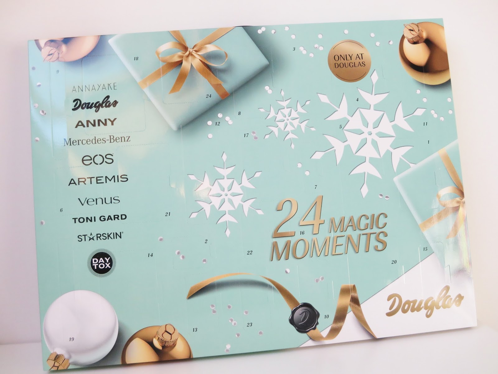 douglas 24 magic moments adventskalender spoiler. Black Bedroom Furniture Sets. Home Design Ideas