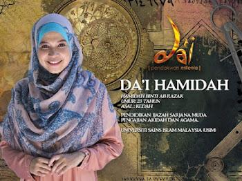 Hamidah Juara Da'i Milenia Musim Ke-3