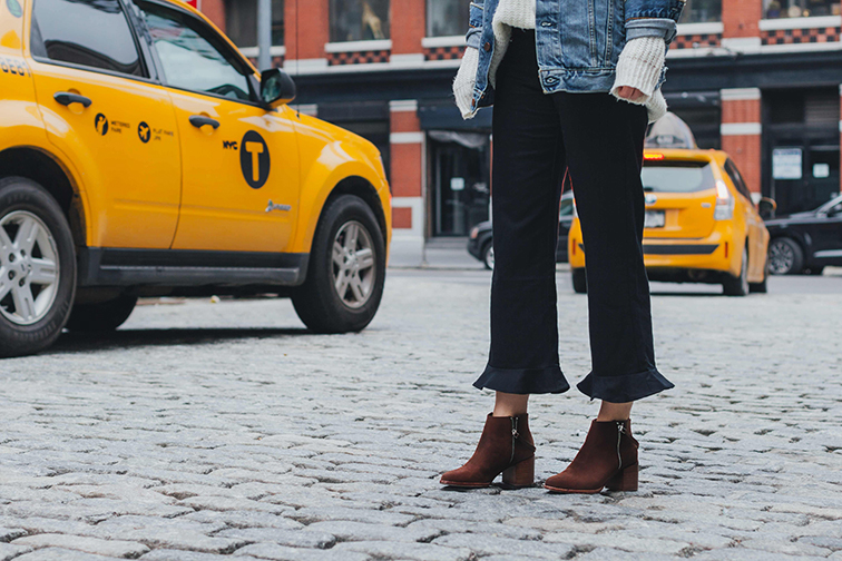 Matt Bernson Caspian booties, New York City