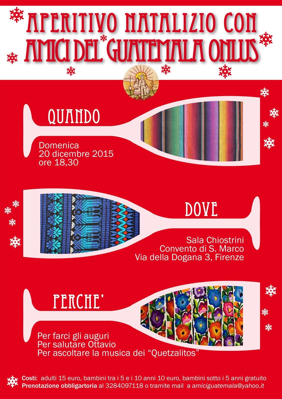 Auguri Di Natale Yahoo.Amici Del Guatemala Onlus Aperitivo Di Natale Con Amici Del Guatemala