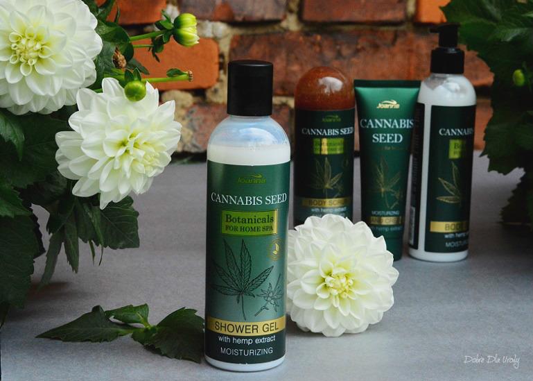 Joanna Botanicals for Home Spa Cannabis Seeds Kremowy żel pod prysznic z Ekstraktem z Konopi
