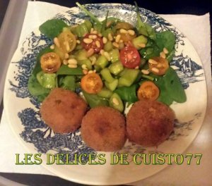 croquettes de pommes de, terre, thon