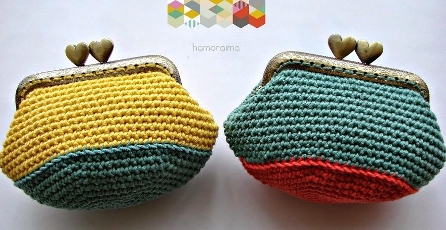 Monederos De Crochet 14 Hamoraima - Monederos-ganchillo