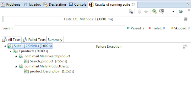 Execute Multiple Classes in TestNG Examples