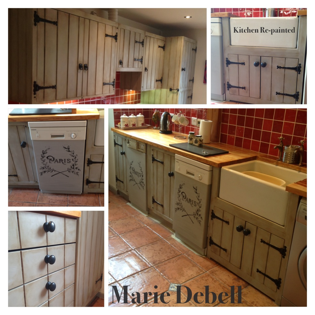 Chalk Paint For Kitchen Cabinets Uk: MARIE DEBELL: April 2013