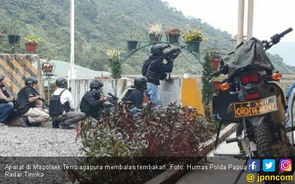 Makin Berani, Pos Brimob dan Markas Polsek Tembagapura Diserang