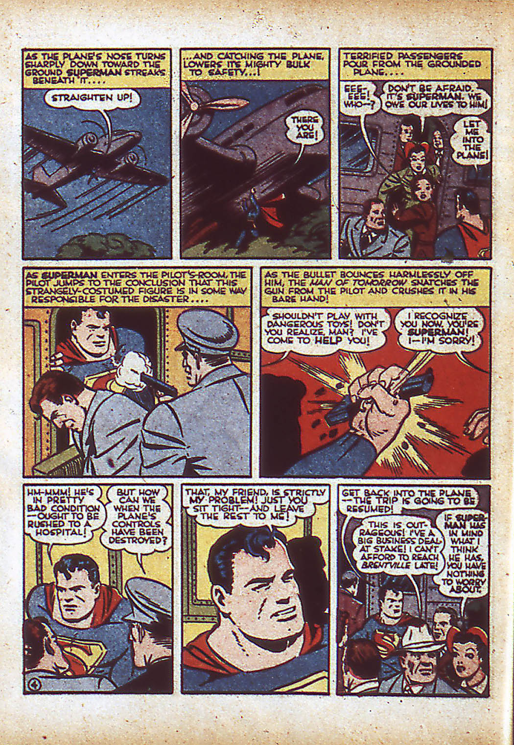 Read online Action Comics (1938) comic -  Issue #43 - 6