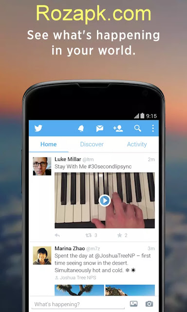Twitter Apk v5.95.0 (5110033) Latest Version For Android