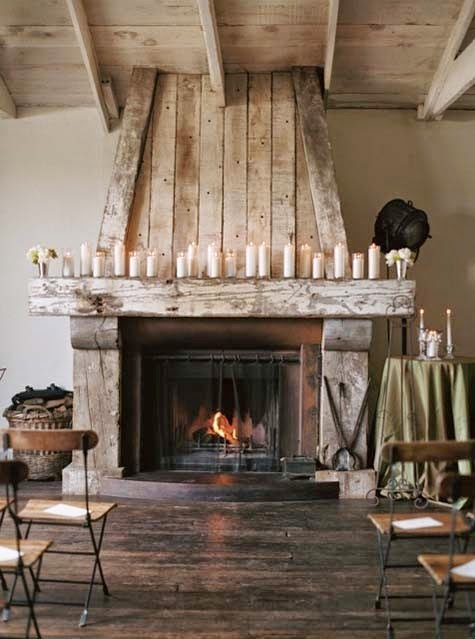 Willow Decor: My Return & Barn Wood Fireplace Surrounds