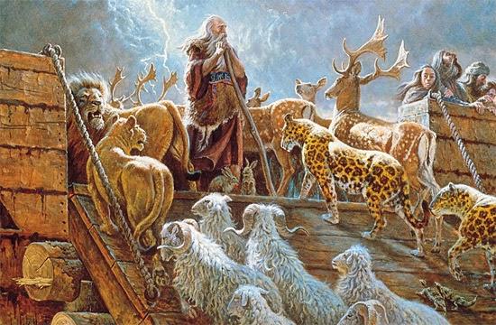 Arca de Noé - Imagem clássica