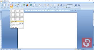 Cara Mudah Membuat Tabel Dengan Microsoft Word