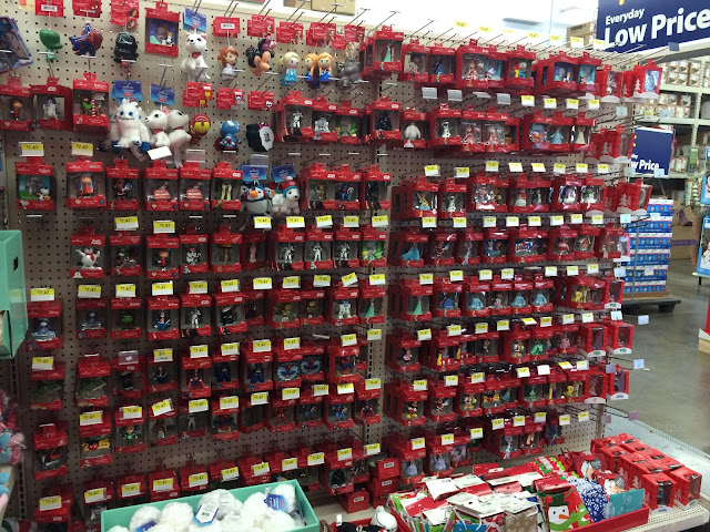 Hallmark Ornaments at Walmart | Making it Milk-free | www.makingitmilkfree.com