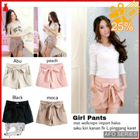 AFO212 Model Fashion Girl pants Modis Murah BMGShop