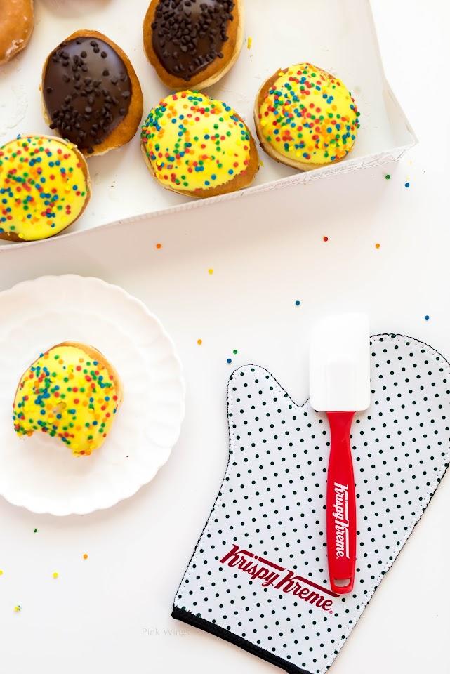donuts, birthday cake batter, brownie batter, best doughnuts, lds blogger