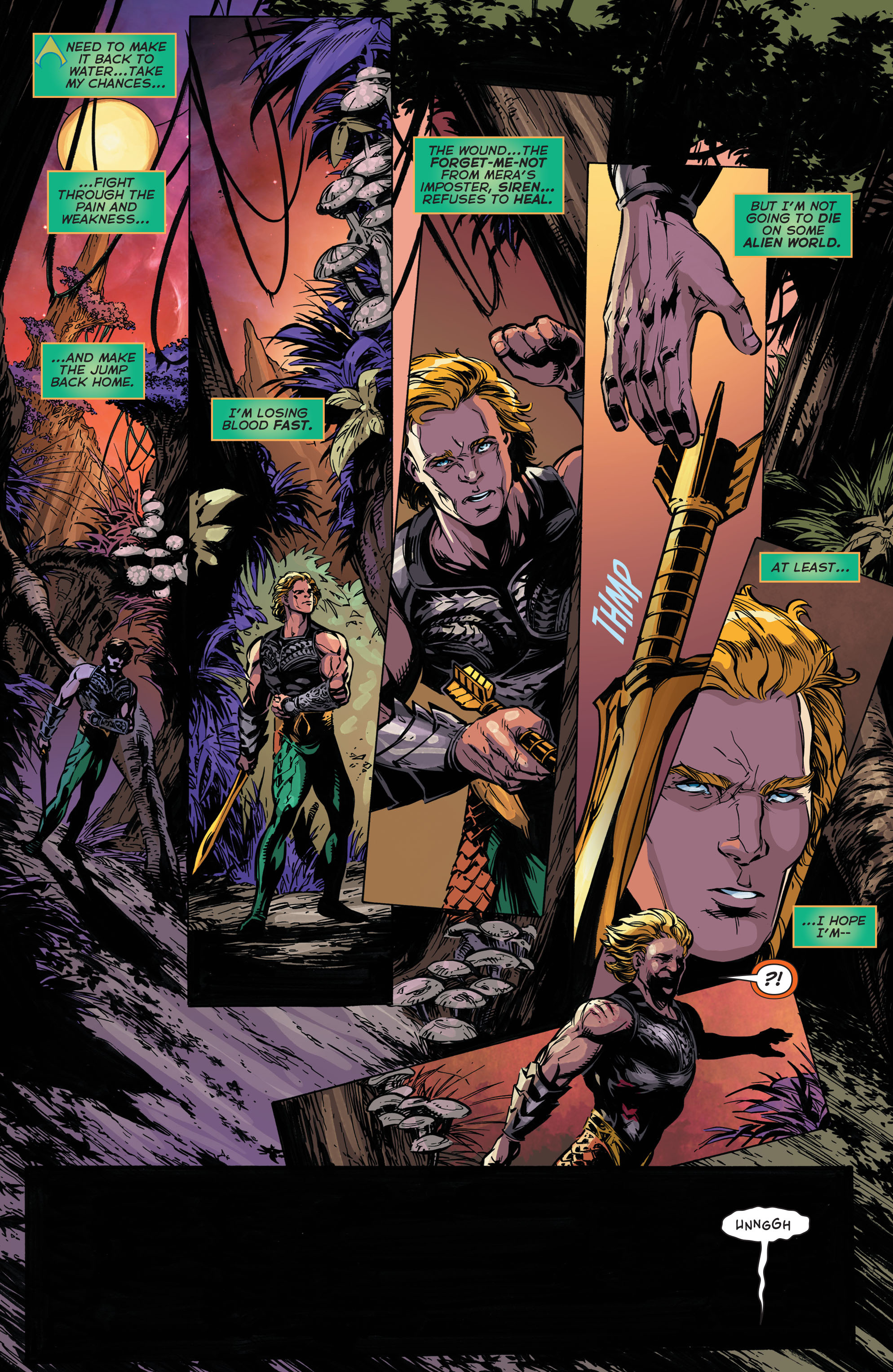Read online Aquaman (2011) comic -  Issue #45 - 11