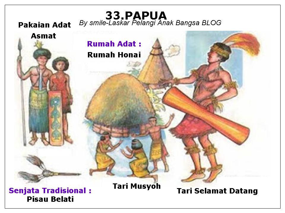 macam macam pakaian adat lengkap 34 provinsi indonesia