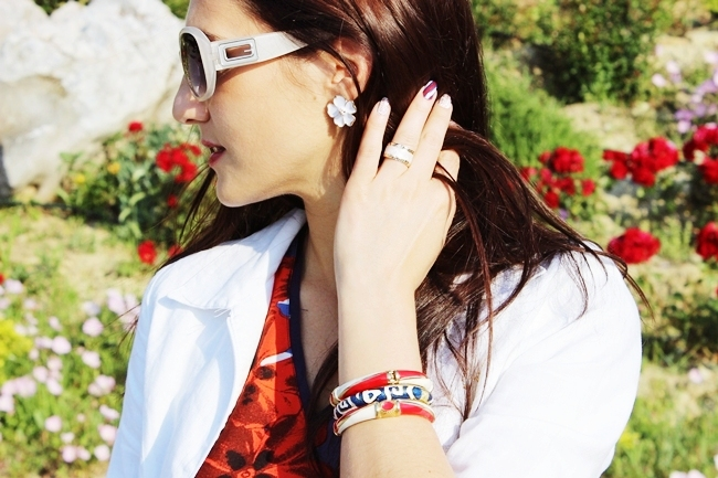 enamel bangles, enamel jewelry