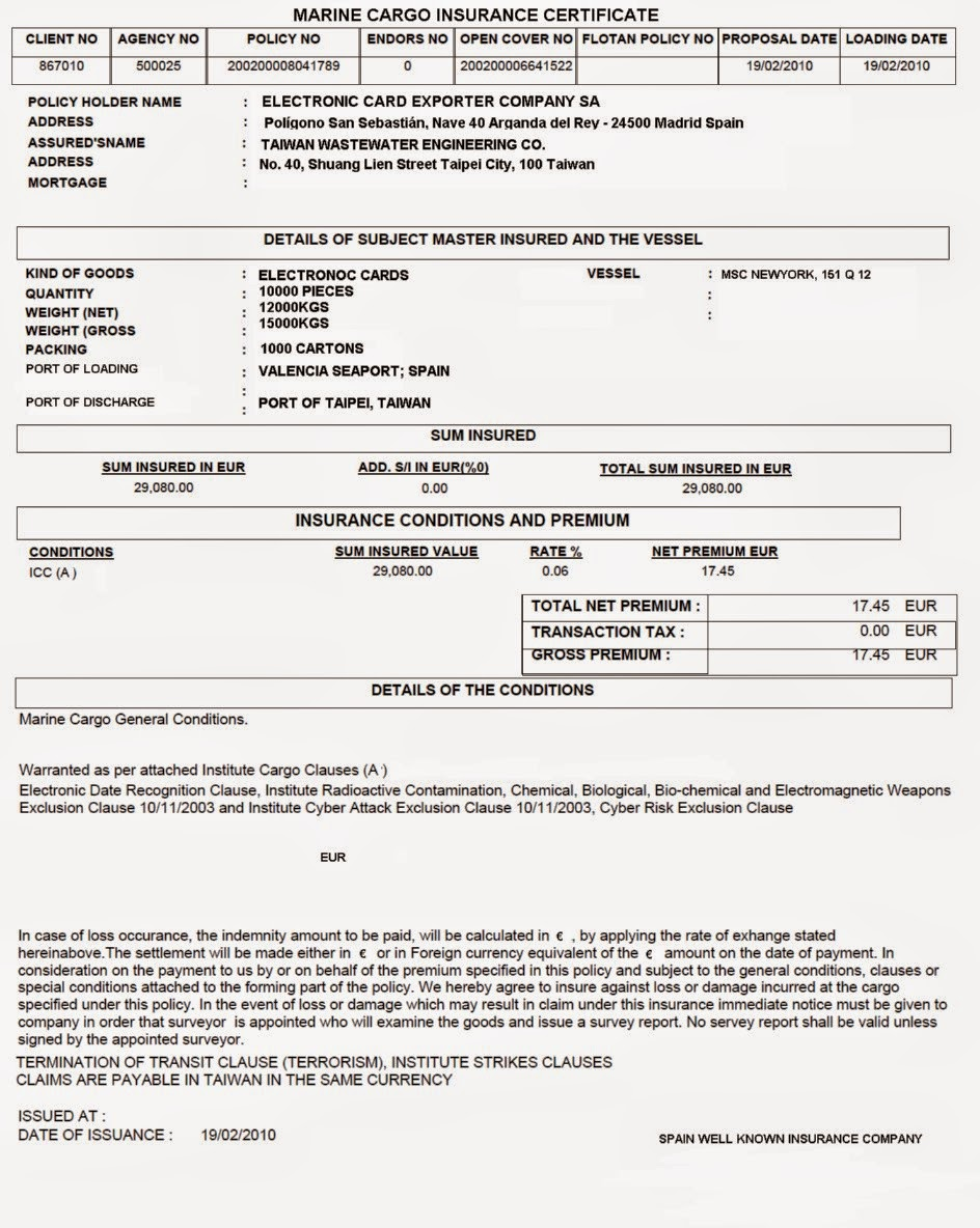 Sample Do Insurance Policy | Find CV And Resume