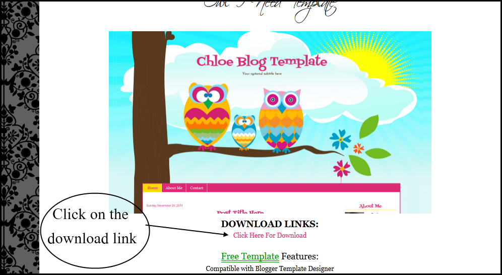How to install free templates on new blogger interface for Design your own blogger template free