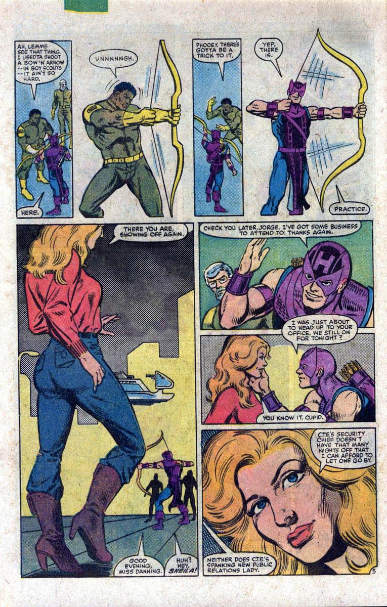 Hawkeye (1983) Issue #1 #1 - English 6