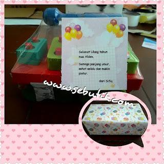 Mainan Kado Hadiah Ultang Tahun