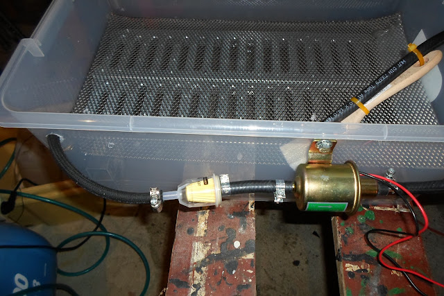 filtre à essence et tuyaux