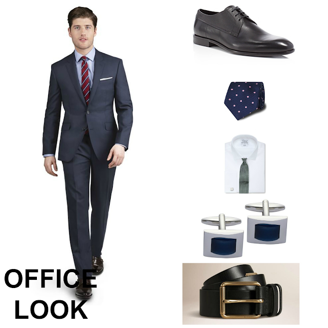 Office Daytime look man with TM Lewin