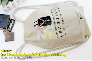 Tas Blacu Gendong Tali Sumbu Pakai Ring