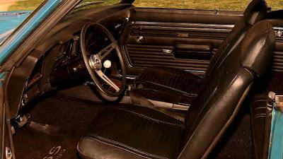 1969 Chevrolet Camaro SS 396 Sport Coupe Interior Cabin