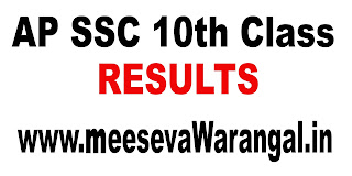 AP SSC 10th Class 2018 Results with Grade Marks Download