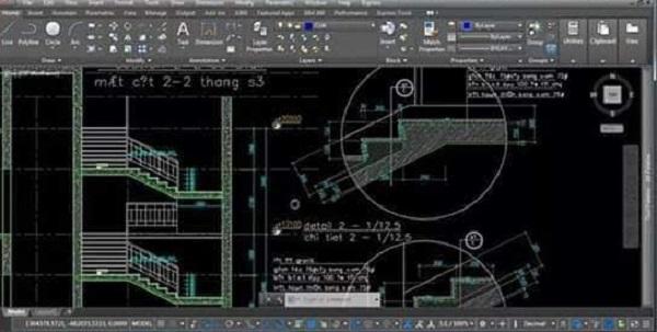 تفاصيل السلالم بجميع أنواعها وأشكالها المعماريه | المهندس العربي