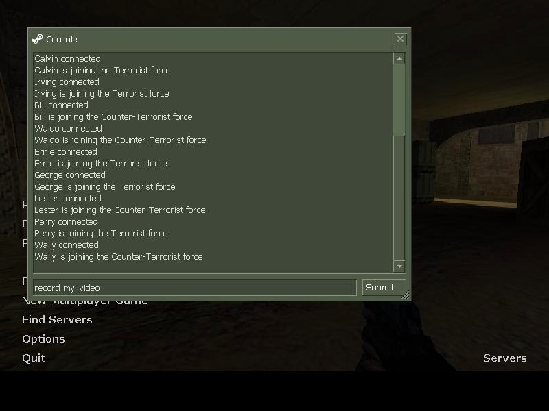 How to record, play and find your demo in Counter-Strike 1.6 - 2014
