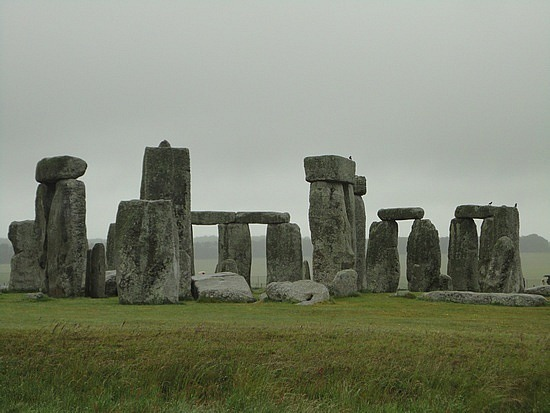 Stonehenge Morning Clouds