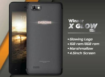 Cara Flashing Evercoss R45 Winner X Glow Via Upgrade Download