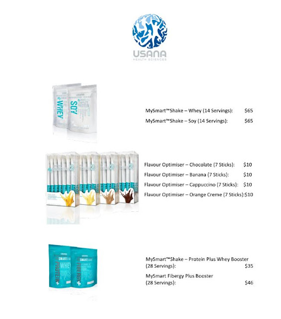 Usana MySmartShake Price List Singapore