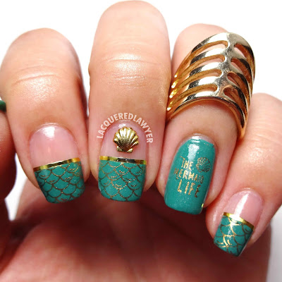 Merry Mermaids Nail Art
