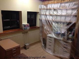 still gelegtes Bastelzimmer