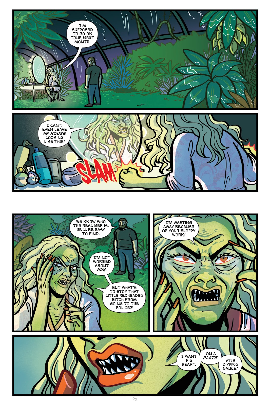 Read online Mer comic -  Issue # TPB - 70