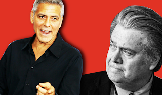 George Clooney Uncensored: 'Steve Bannon Is a Pussy'
