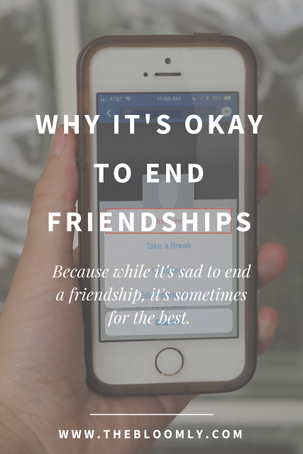 Why It's Okay to End Friendships