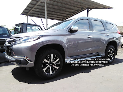 exterior all new pajero sport - dakar - titanium grey