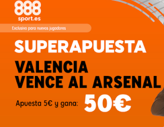 888sport superapuesta Europa League Valencia gana Arsenal 9 mayo 2019
