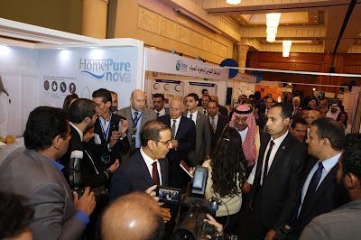 """HomePure de QNET impressionne au Forum du Conseil Arabe de l'Eau en Egypte qui s'est tenu sous lé thème  """"Partager l'Eau… Partager un Destin"""""""