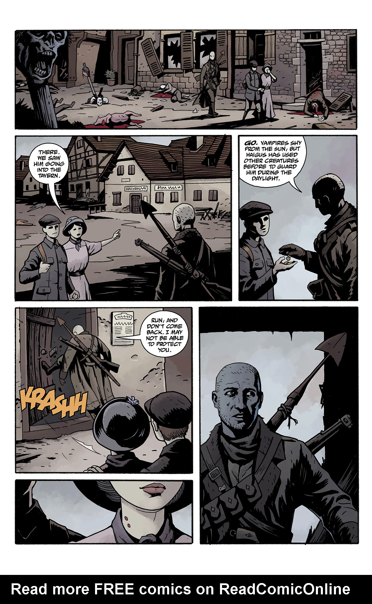 Read online Baltimore: The Curse Bells comic -  Issue #1 - 8