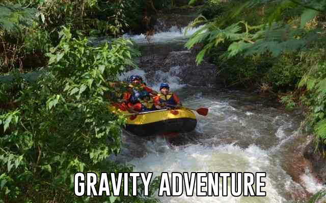 pemandu gravity adventure rafting di sungai palayangan bandung paling top