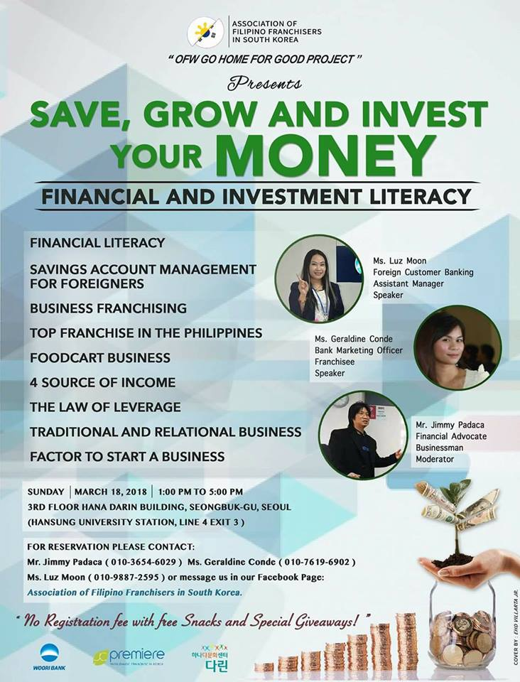 thesis about financial literacy in philippines Why some ofws remain poor despite working abroad financial problems even before leaving the philippines that financial literacy among filipinos.