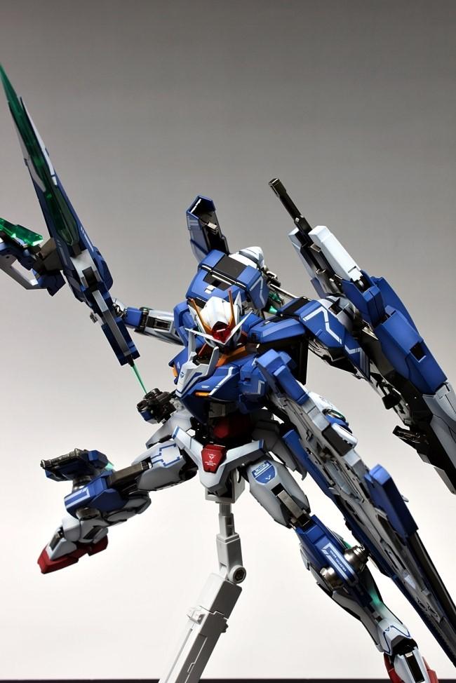Gundam Guy Mg 1 100 00 Gundam Seven Sword G Painted Build