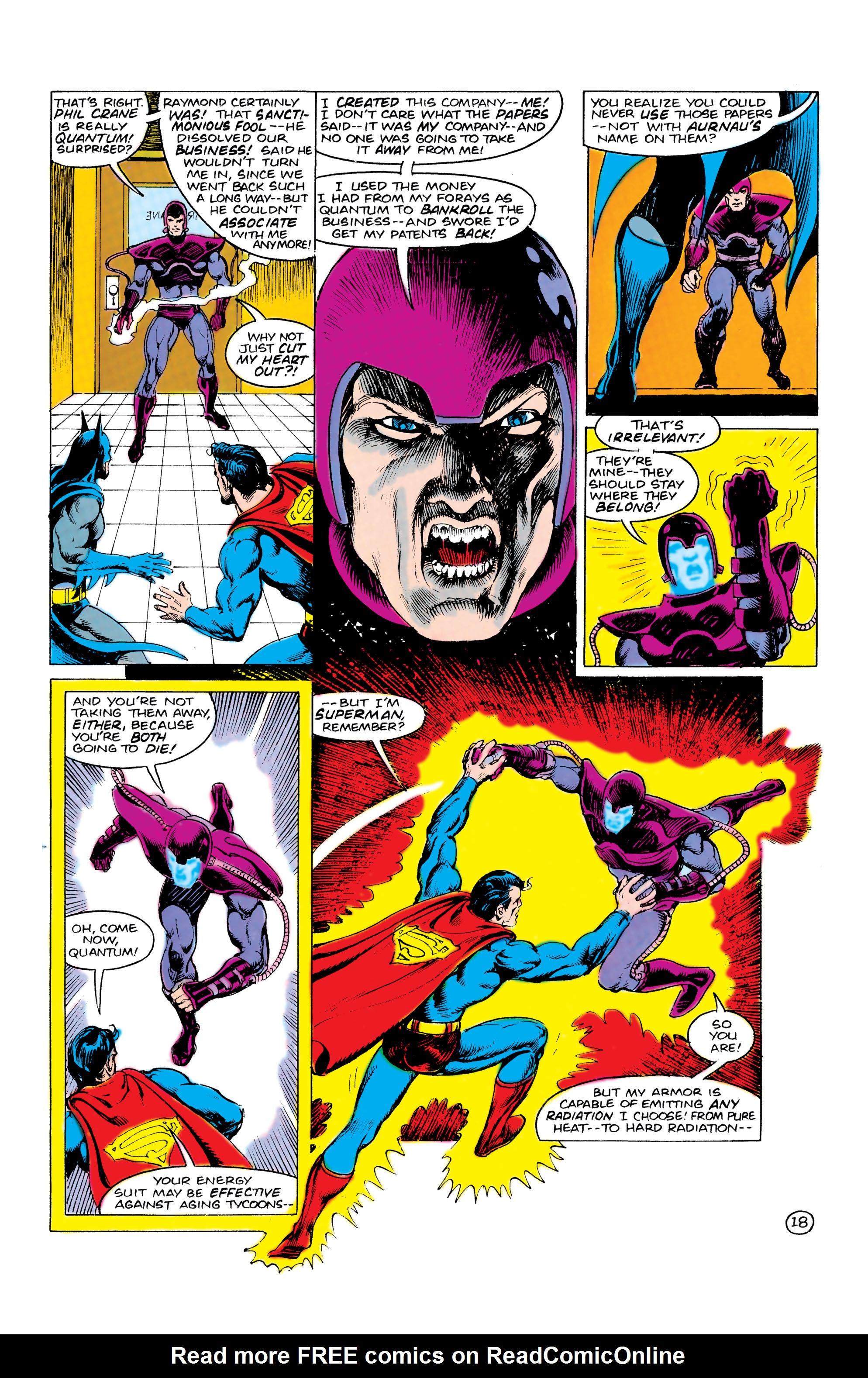 Read online World's Finest Comics comic -  Issue #309 - 19